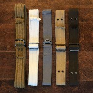 Other - Bundle of Boys' Belts